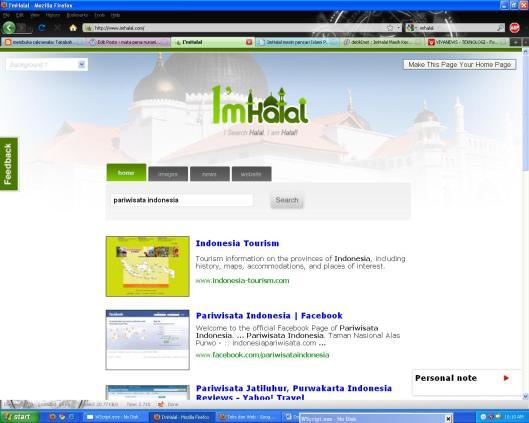 imhalal search